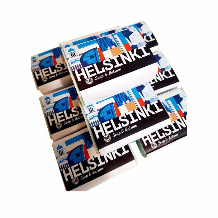 Helsinki matkamuistosaippua